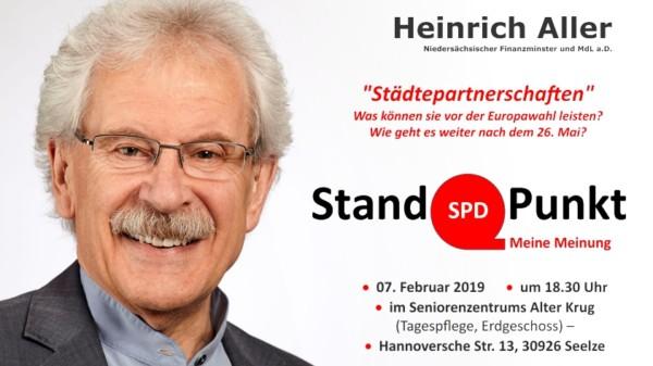 Plakat Aller Stand Punkt 2019-1