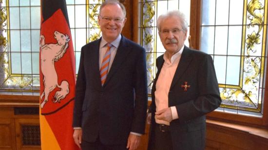 Bundesverdienstkreuz Heiner Aller